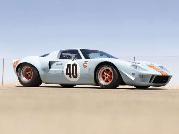 1968-Ford-GT40-GulfMirage-Lightweight-Racing-Car-Bild-01