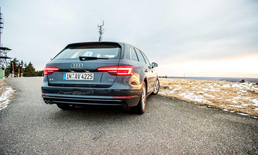 Audi A4 Avant 3.0 TDI im Test
