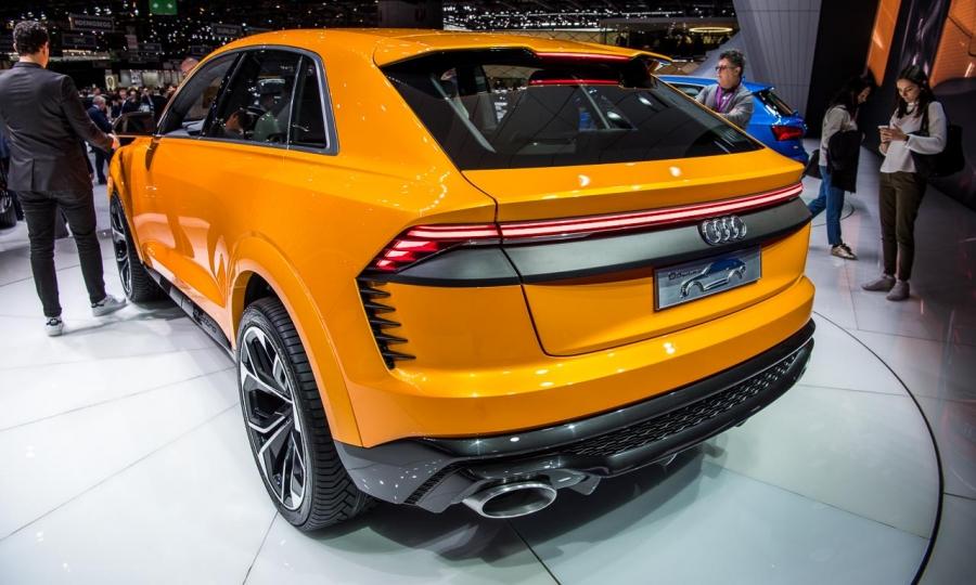 Audi Q8 sport concept auf dem Autosalon Genf 2017
