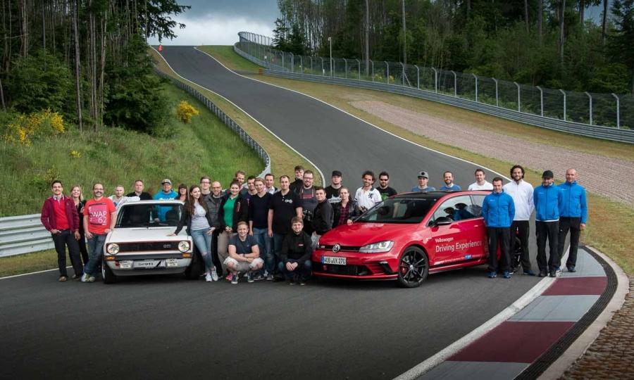 Das sind sie: alle Teilnehmer des Bilster Berg Blogger Day