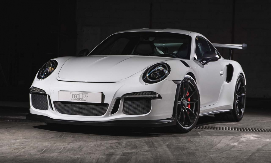 Carbon-Porsche 911 GT3 RS von TechArt