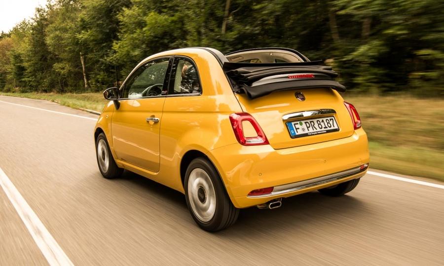 Das neue Fiat 500C Cabriolet im Detail