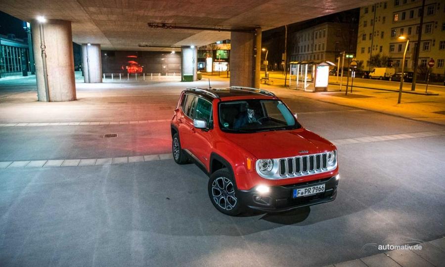 Durch die Wiener Nacht mit dem Jeep Renegade