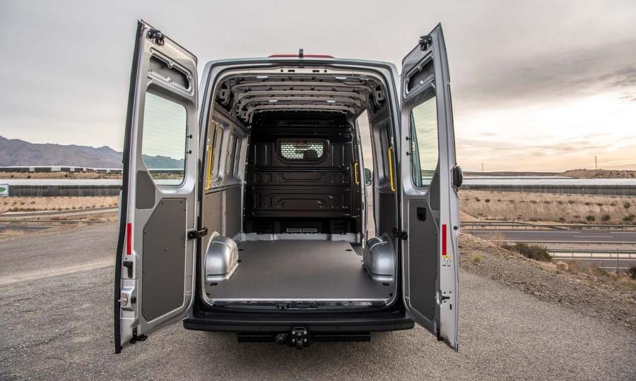 Erste Fahrt im neuen VW Crafter II