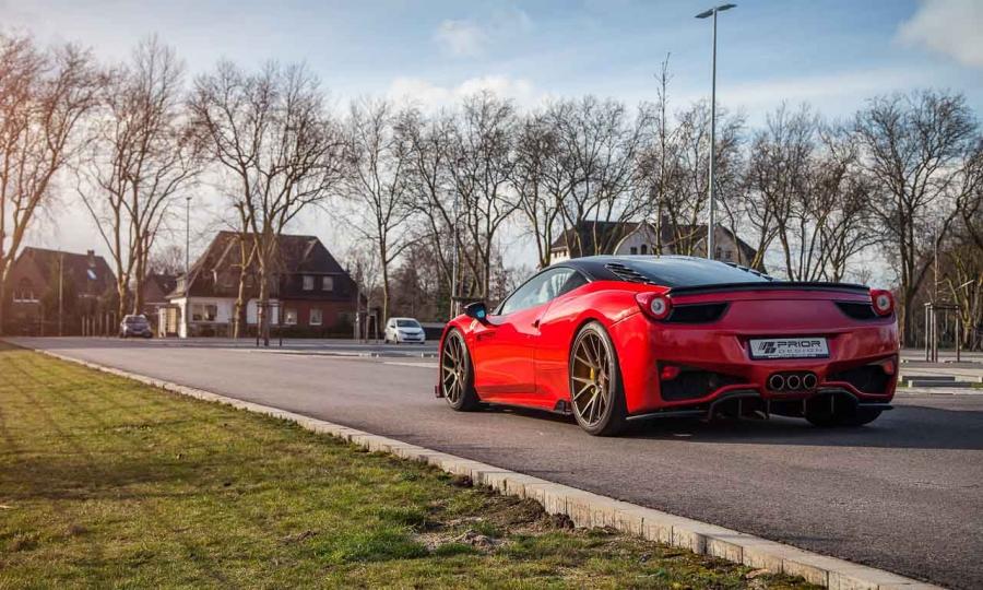 Ferrari 458 Italia von Prior Design
