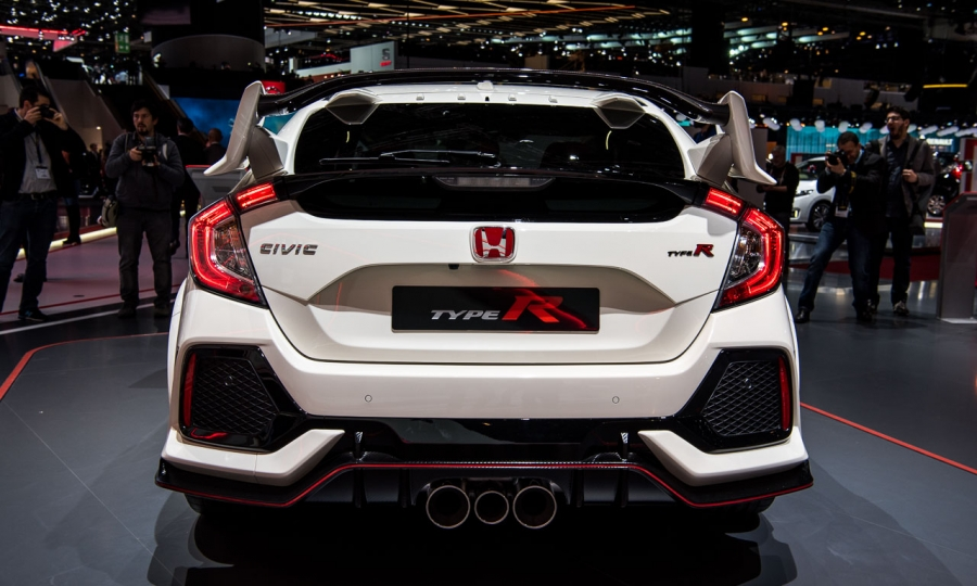 Honda Civic Type R in Genf