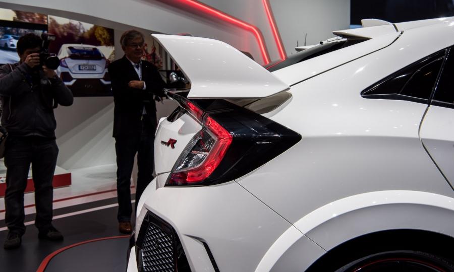 Honda Civic Type R in Genf
