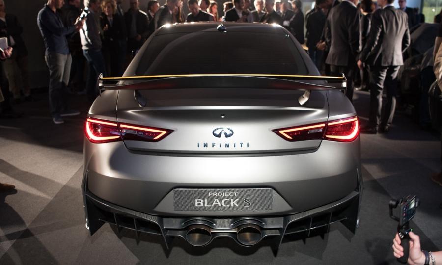 Infiniti Q60 Black S Premiere in Genf 2017