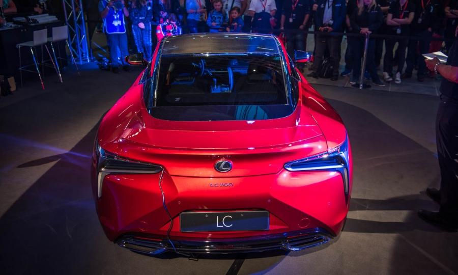 Lexus LC 500 Design