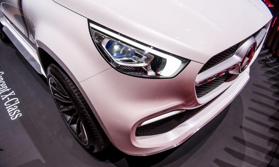 Mercedes-Benz X-Klasse Konzept in Genf 2017