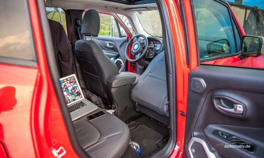 Mit dem Jeep Renegade nach Genf