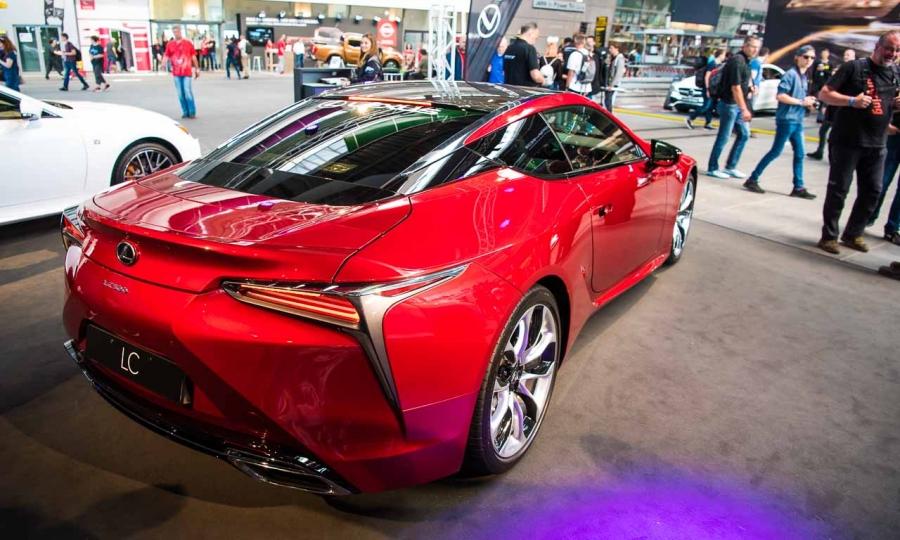 Premiere Lexus LC 500