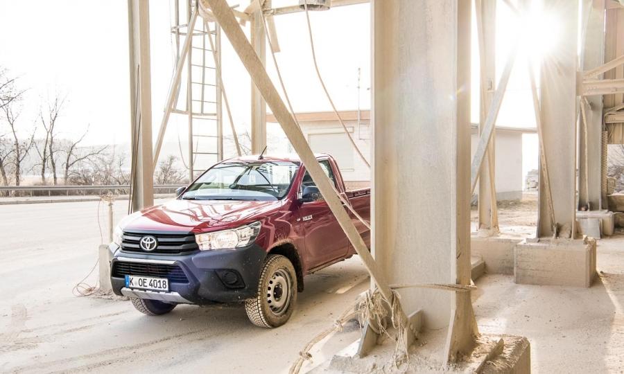Toyota Hilux Einzelkabine im Test