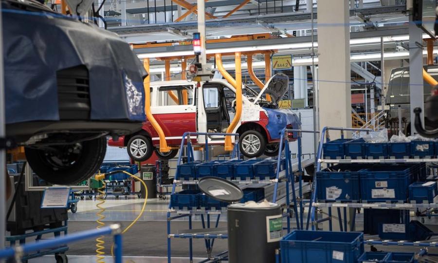 VW T6 - Bulli - Produktion