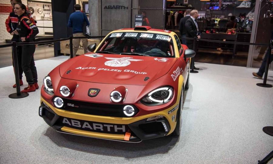 Abarth und Fiat 124 Spider