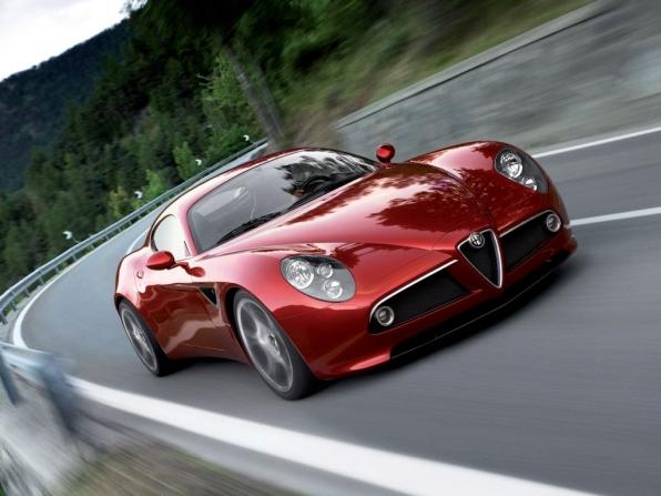 Alfa Romeo 8C Competizione (bis 2009)