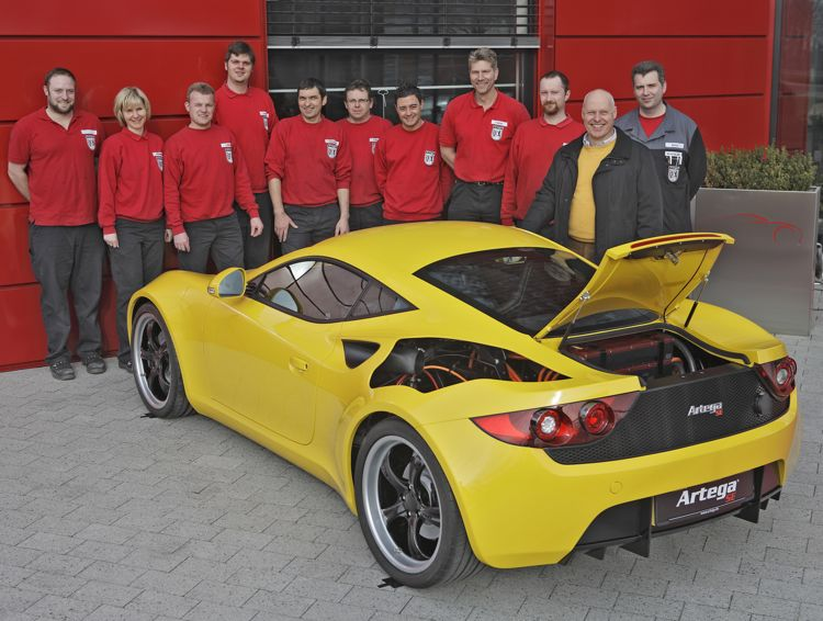 Artega Sportwagen Se 2011 Sportwagen Prototyp Mit Elektromotor Und 380 Ps