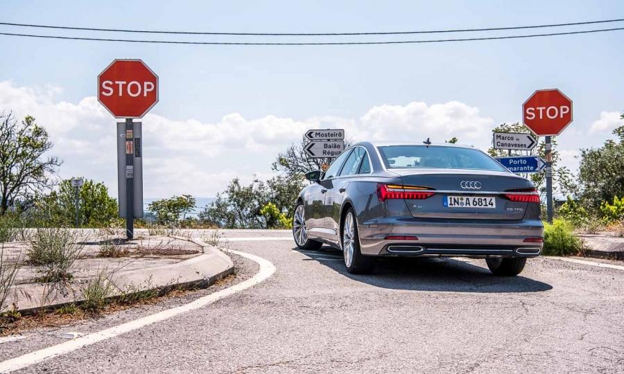 Audi A6 55 TFSI Fahrbericht