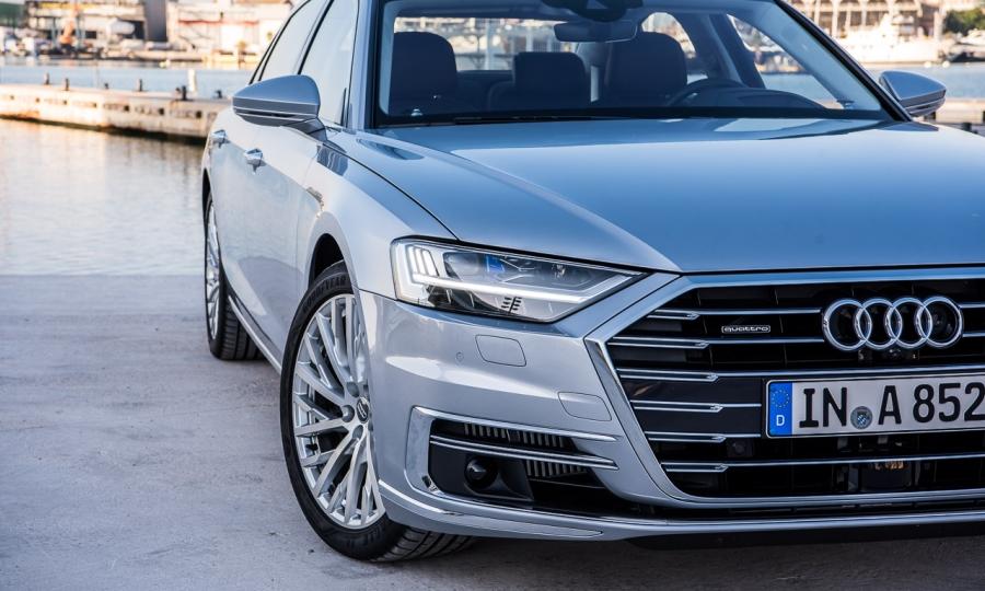 Audi A8 55 TFSI im Test
