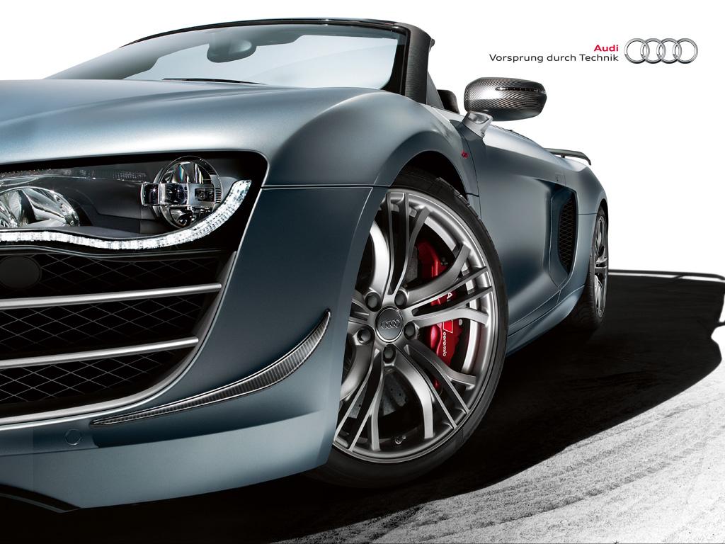 Bildergalerie: Audi R8 GT Spyder