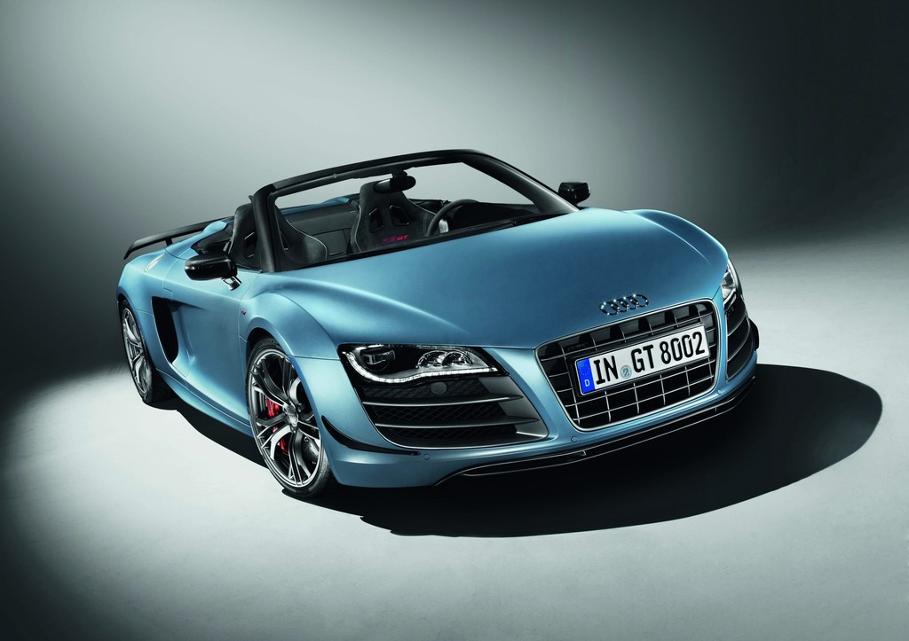Bildergalerie: Audi R8 Spyder