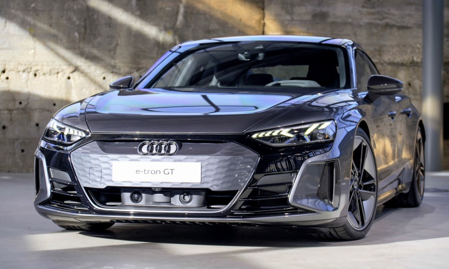 Audi RS e-tron GT und e-tron GT - Details
