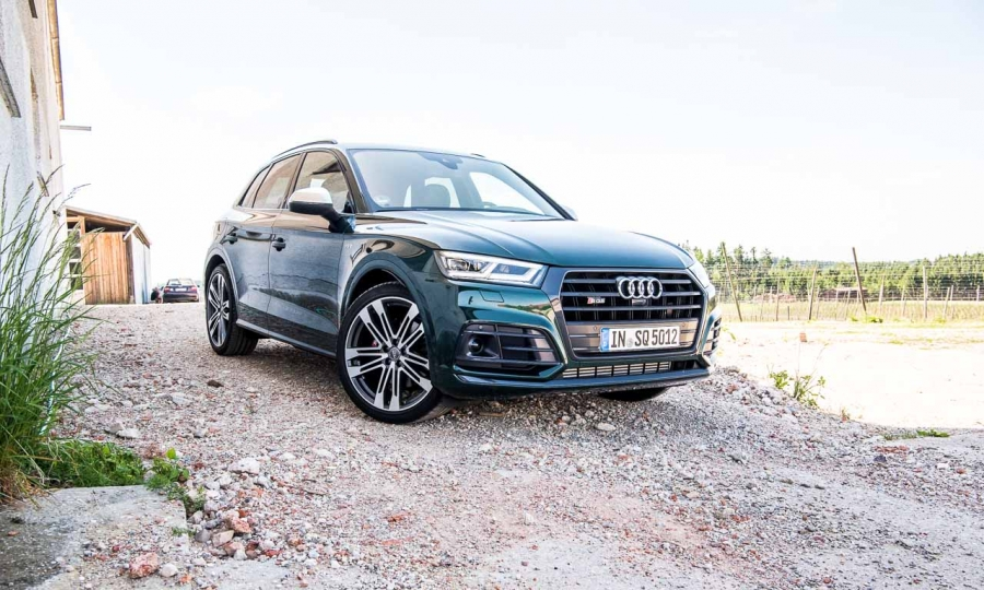 audi sq5 3 0 tfsi 2018 im ersten test eine dynamische komposition das auto. Black Bedroom Furniture Sets. Home Design Ideas