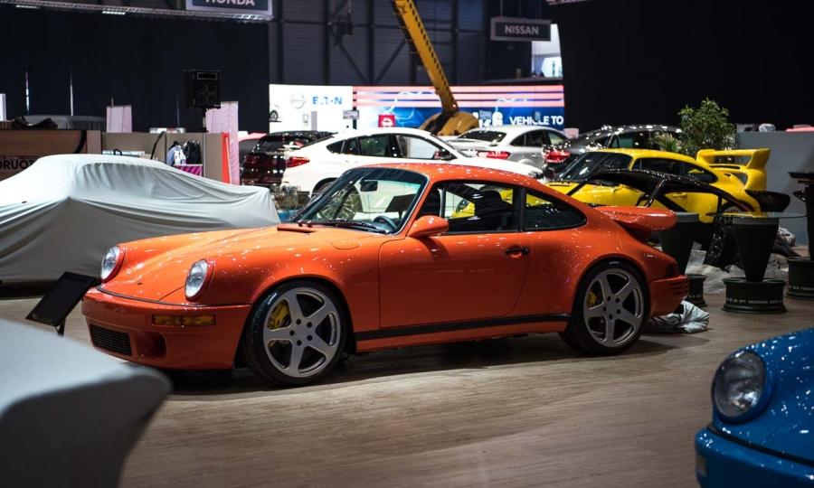 Der Stand des Porsche Veredelers RUF Automobile