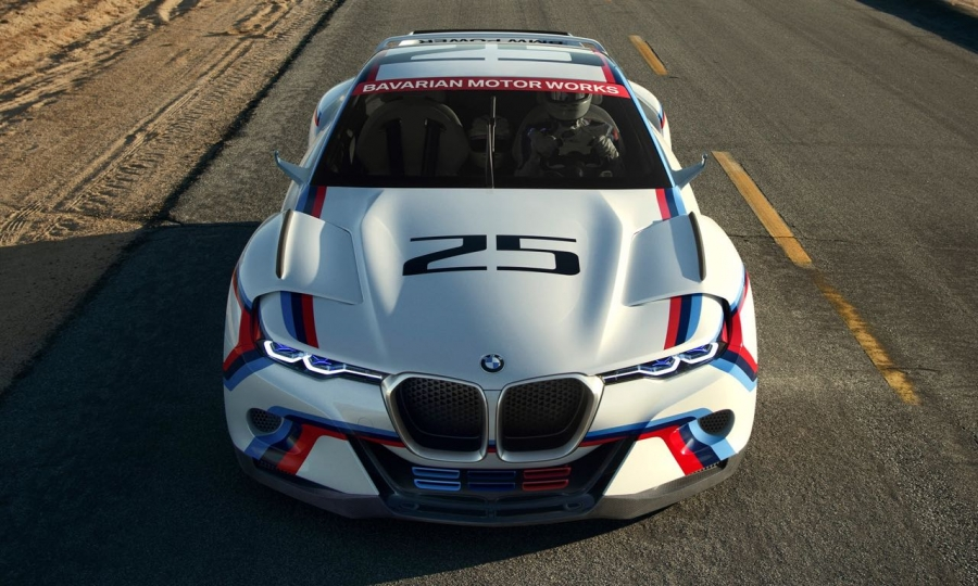 BMW 3.0 CSL Hommage R in Pebble Beach