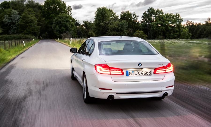 BMW 530i Sport Line Facelift im Test