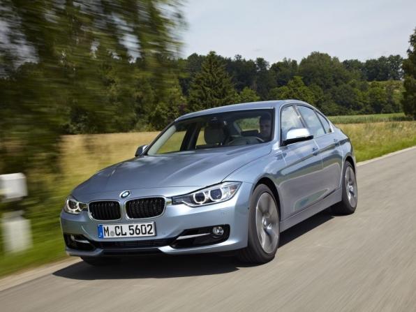 BMW ActiveHybrid 3 (2012)
