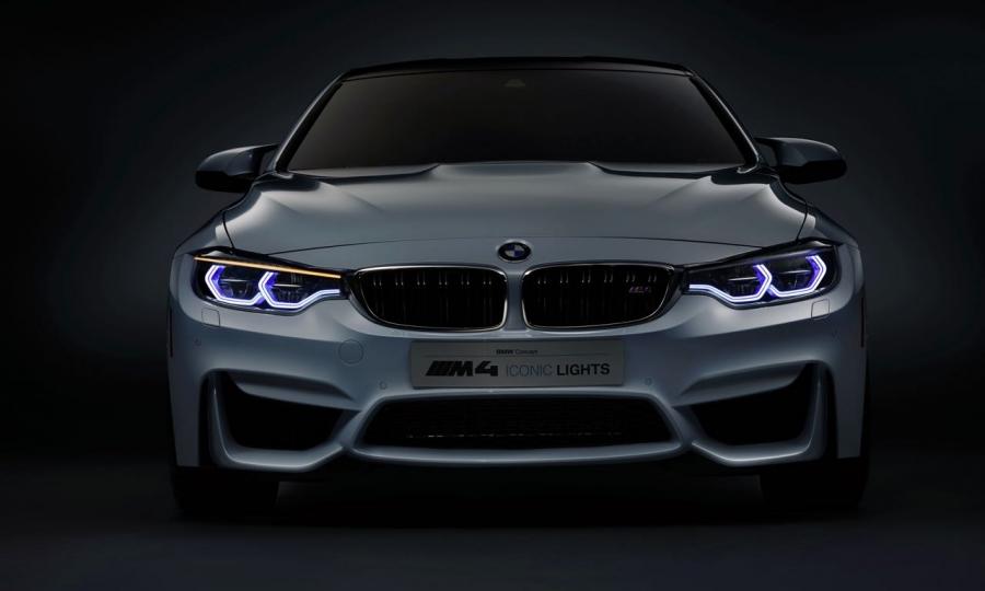 BMW M4 Iconic Laserlight Concept auf der CES in Las Vegas