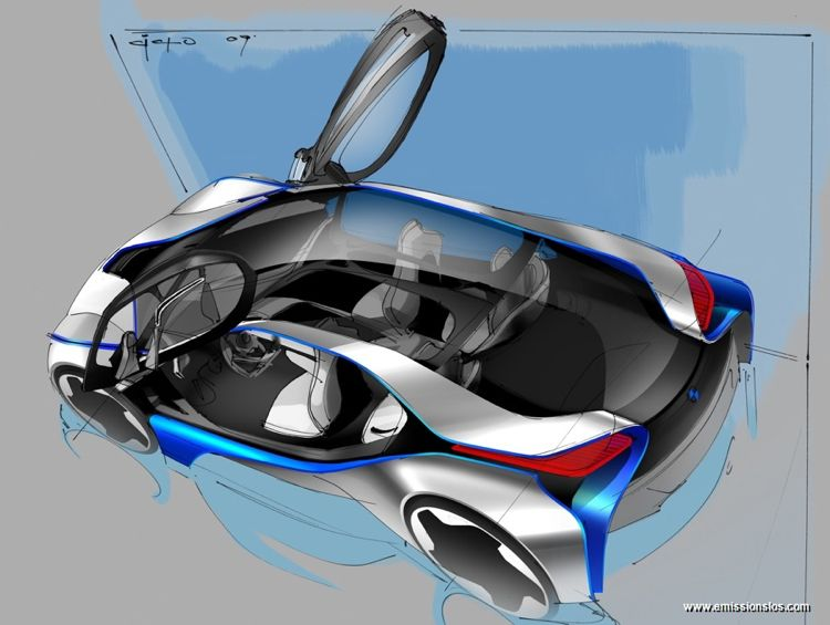 Bmw Vision Efficient Dynamics 2010