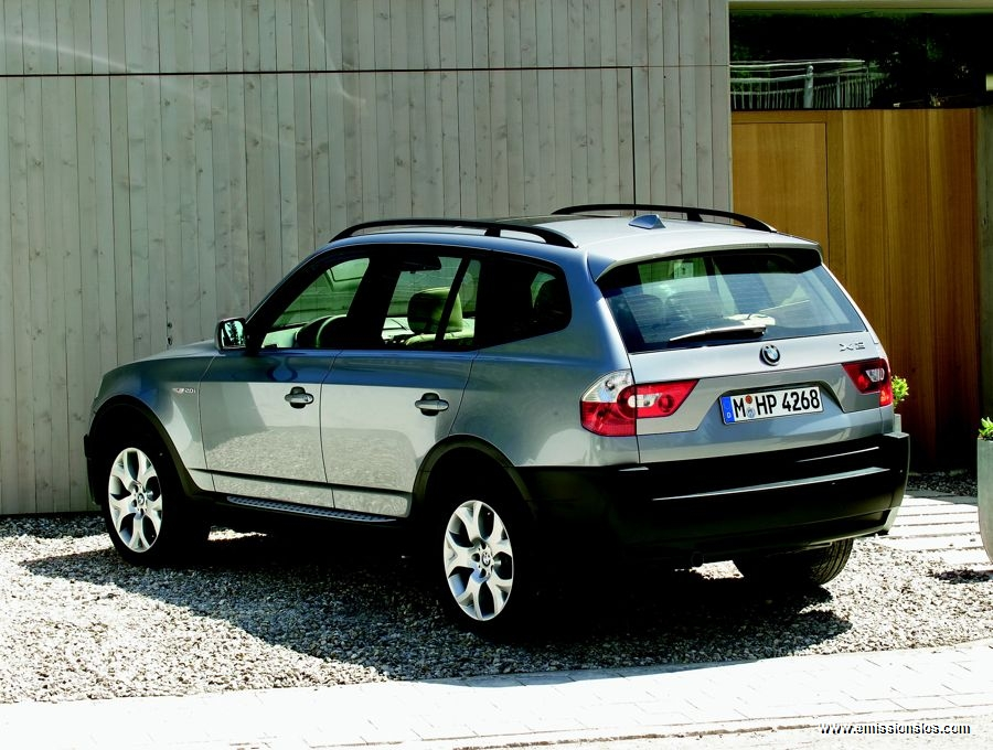 Bmw X3 Efficient Dynamics 2005