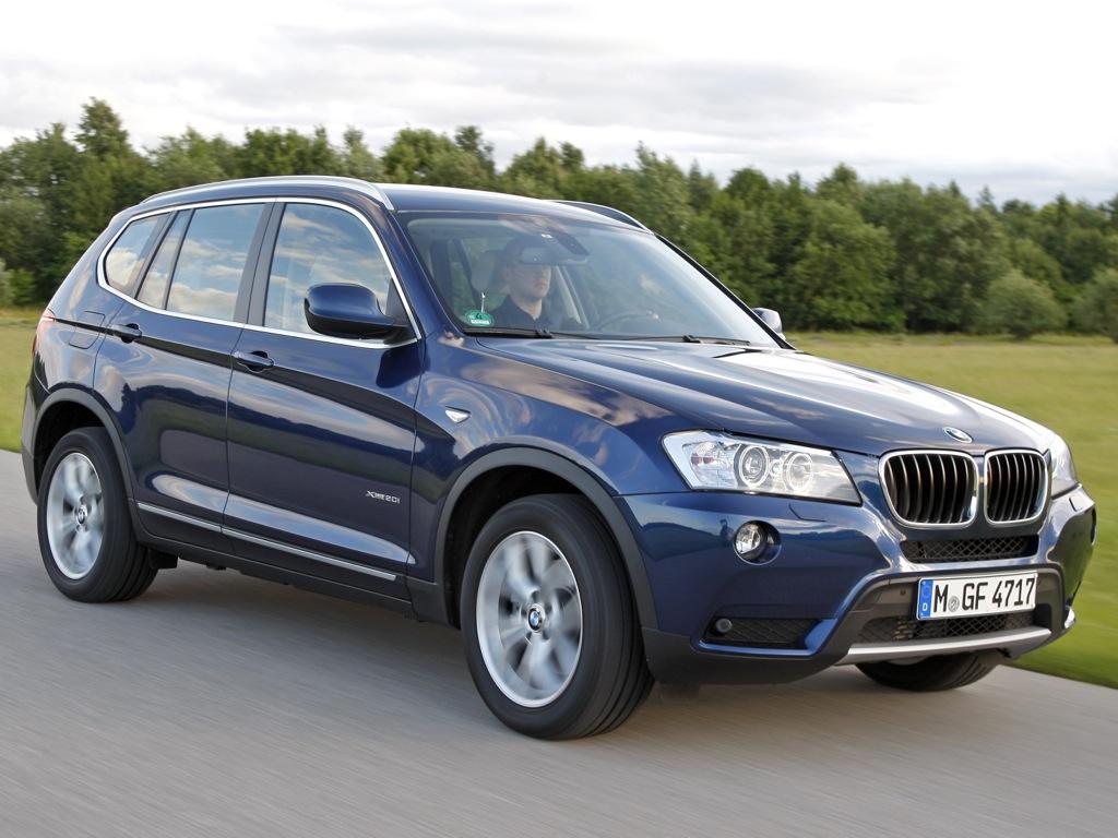 BMW X3 neue Motoren 2012