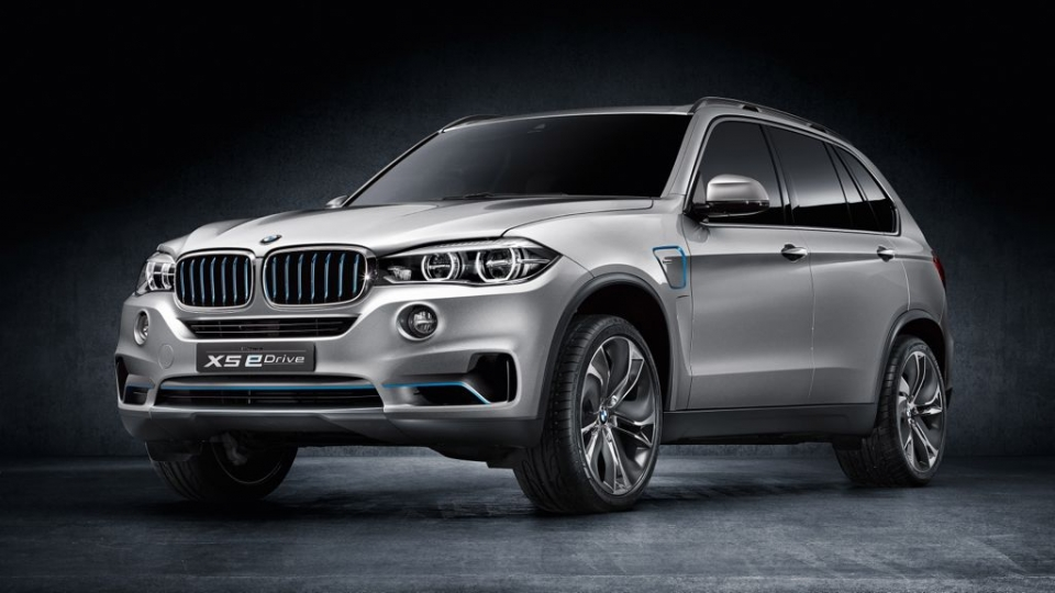 BMW x5 e-Drive (2014)