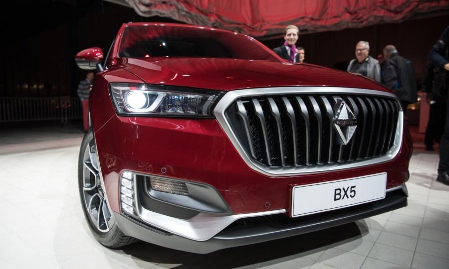 Borgward BX5 (2017) und BX7 als auch BX6 TS
