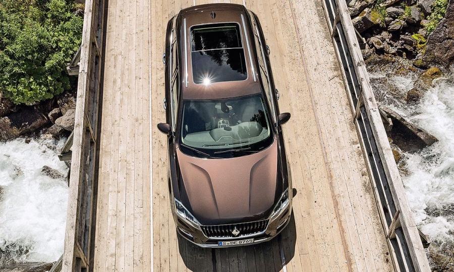 Borgward BX7 auf der IAA 2015