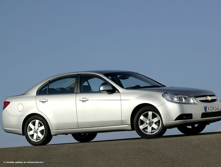 Chevrolet Epica Lpg 2010