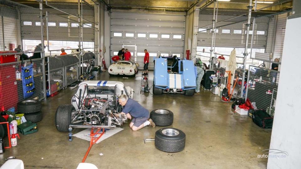 Der 43. AvD Oldtimer Grand Prix am Nürburgring in Bildern