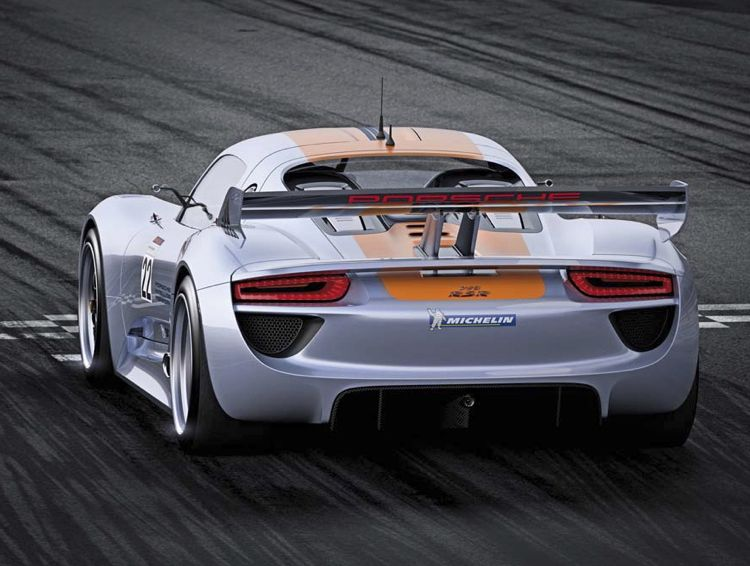 Detroit Auto Show Best In Show Award Fr Den Porsche 918 Rsr Hybrid