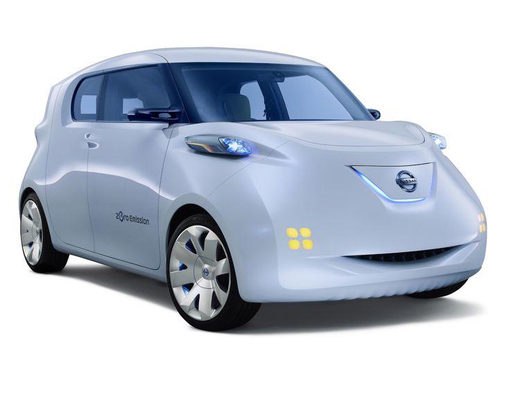 Elektroauto Nissan Townpod Modern Way Of Life
