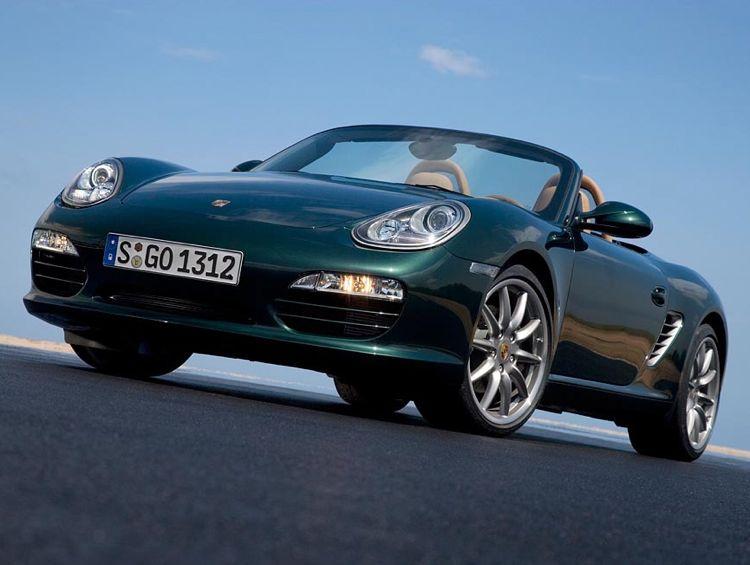 Elektroauto Porsche Boxster E Im Testbetrieb