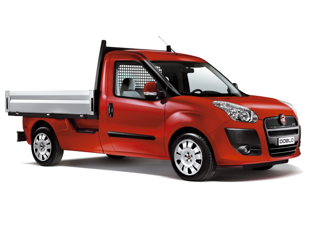 Ab auf die Pritsche: Fiat Doblo Cargo