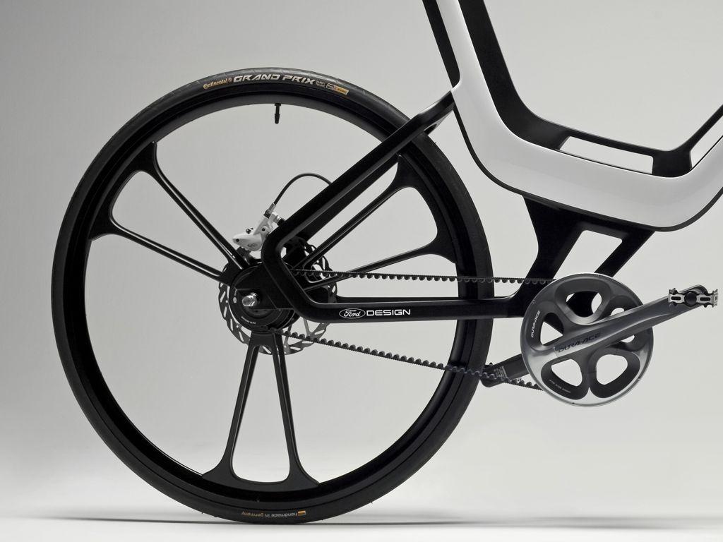 Ford E-Bike Concept 2011 - Techniskstudie auf der IAA 2011