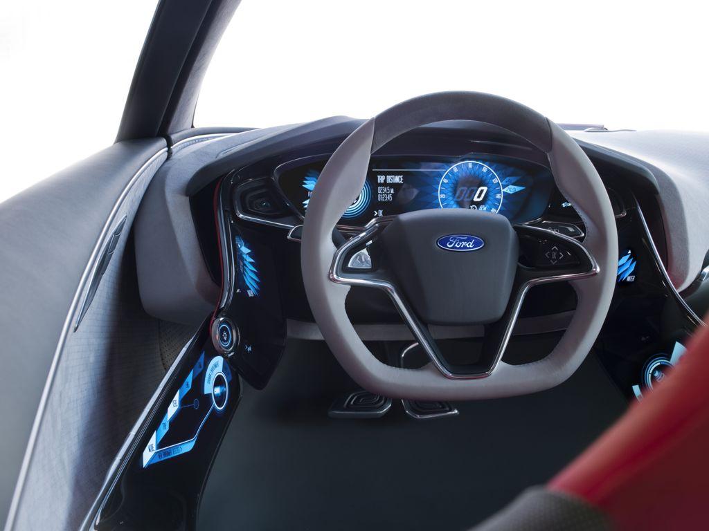 Ford Evos Concept 2011 auf der IAA 2011