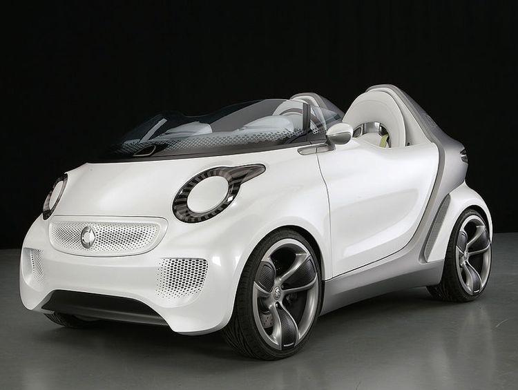 Genf 2011 Elektroauto Smart Forspeed