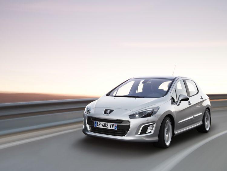 Genf 2011 Facelift Peugeot 308 Mit Start Stop System