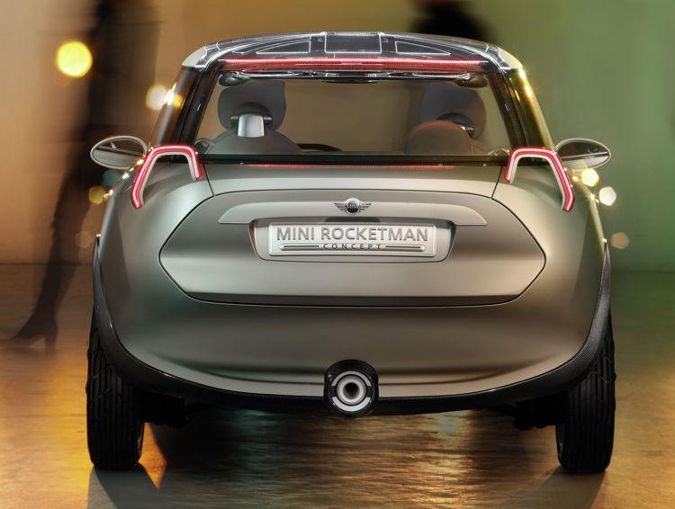 Genf 2011 Kleiner Und Leichter Mini Rocketman Concept