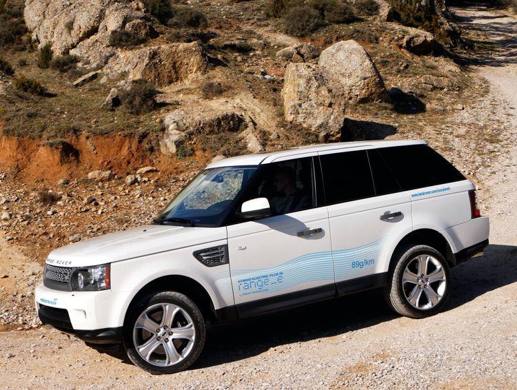 Genf 2011 Land Rover Hybrid Mit Nur 33 Liter Verbrauch